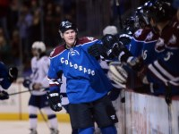 Nick Holden enjoyed a very successful '13-'14 campaign with the Avalanche, and he will look to repeat his performance during the '14-'15 NHL season. (Ron Chenoy-USA TODAY Sports)