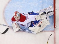 Dustin Tokarski could be useful in deep leagues as he has shown that the Canadiens can rely on him if Carey Price is injured or needs some rest. (Ed Mulholland-USA TODAY Sports)