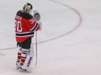 Brodeur wants one more chance at a Stanley Cup (Ed Mulholland-USA TODAY Sports)
