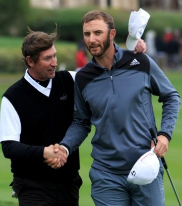 The recent events surrounding PGA Tour player Dustin Johnson, who just happens to be Wayne Gretzky's future son-in-law, qualifies as one of the strangest golf stories involving NHL players.