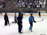 Jonathan Quick, Jordan Nolan, and Anze Kopitar