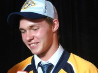 Vladislav Kamenev at the 2014 NHL Entry Draft - Photo: Sarah Fuqua