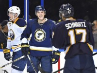 Jori Lehtera will don the St. Louis logo for another four years. (Jasen Vinlove-USA TODAY Sports)