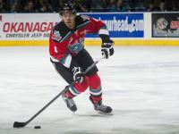(Marissa Baecker/shootthebreeze.ca) Kelowna Rockets captain Madison Bowey is leading all WHL defencemen in scoring this season and is pushing for a roster spot on Team Canada at the world juniors.