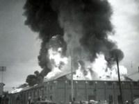 Oshawa Arena fire, 1953.