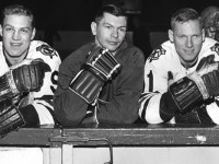 Bobby Hull, Stan Mikita, Bill (Red) Hay