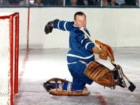 Johnny Bower returned to the net after missing two weeks.