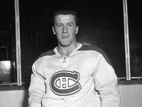 Claude Provost's overtime goal sends the Habs to the Stanley Cup finals.