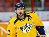 Mike Fisher hasn't skipped a beat since returning to the Preds' lineup. (Photo Credit: Andy Martin Jr)