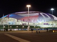Bolshoy Ice Dome in Sochi (Russia)