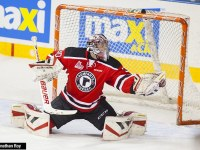 Quebec Remparts goaltender Callum Booth  is one of the top 2015 NHL draft eligible goalies. (Jonathan Roy/Quebec Remparts)