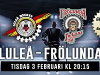 Luleå and Frölunda will play in the CHL final on 3 February 2015 in Luleå.