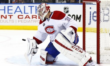 Carey Price Leaves Game Wednesday