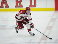 Harvard University and Nashville Predators prospect Jimmy Vesey (Photo by Gil Talbot)