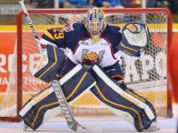 Out of the four OHL netminders on CSS's final rankings, Blackwood was ranked first amongst them and first overall out of all North American netminders on the list. (OHL Images)