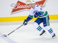 Radim Vrbata in action for the Vancouver Canucks (Credit: Sergei Belski-USA TODAY Sports)