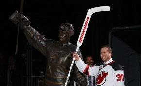 Martin Brodeur Immortalized in New Jersey