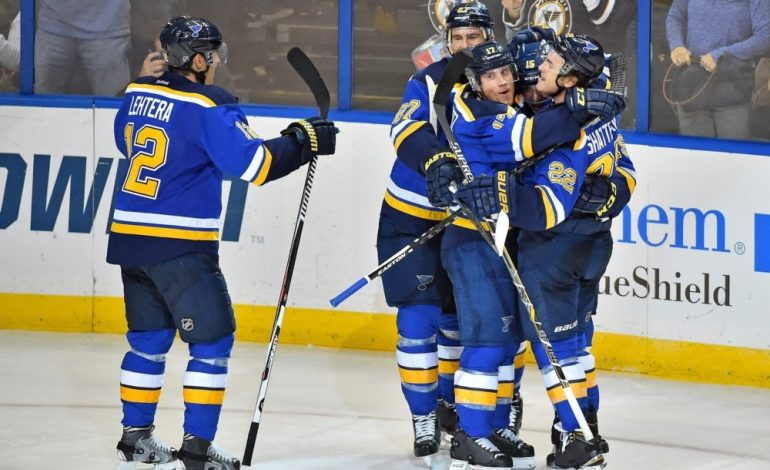 Blues' Robby Fabbri Out Indefinitely With Concussion