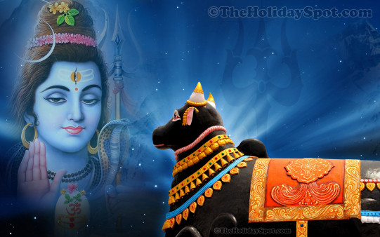Birthday Banner Wallpaper Hd Lord Shiva And Nandi - Wallpapers From Theholidayspot