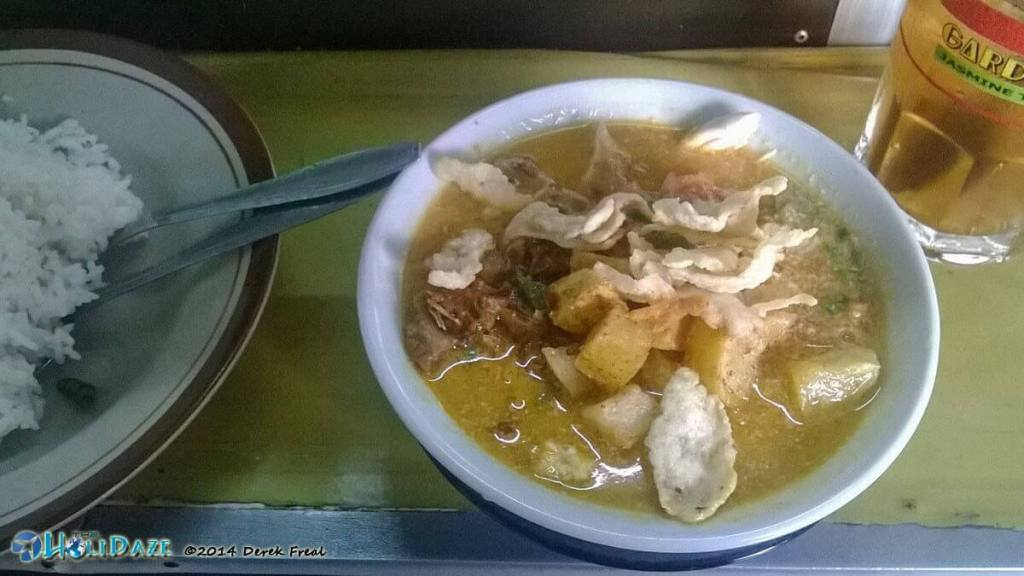 Indonesian Food Guide to Soto Betawi in Bandung, Indonesia
