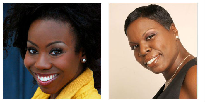 LaKendra Tookes and Leslie Jones
