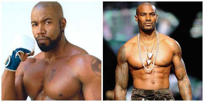 Michael Jai White and Tyson Beckford