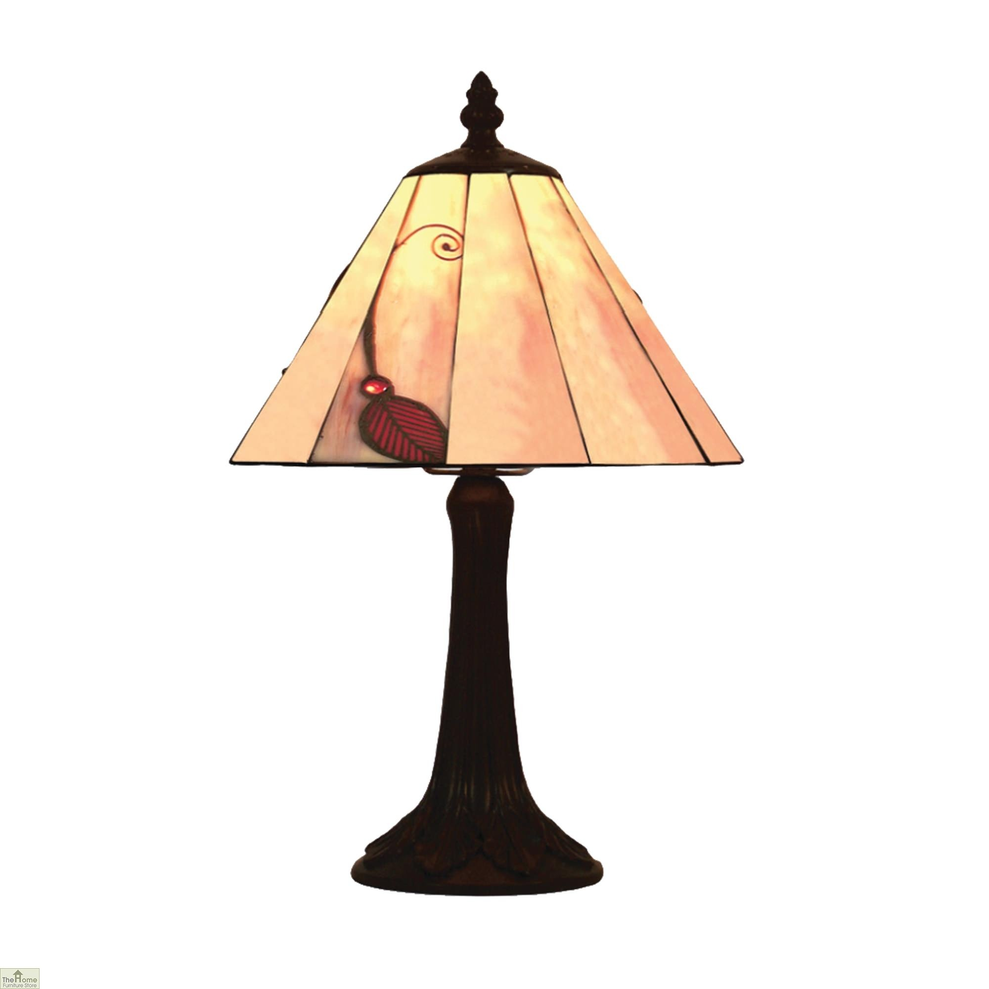 Red Bedside Lamps Red Leaf Table Lamp The Home Furniture Store Hfs