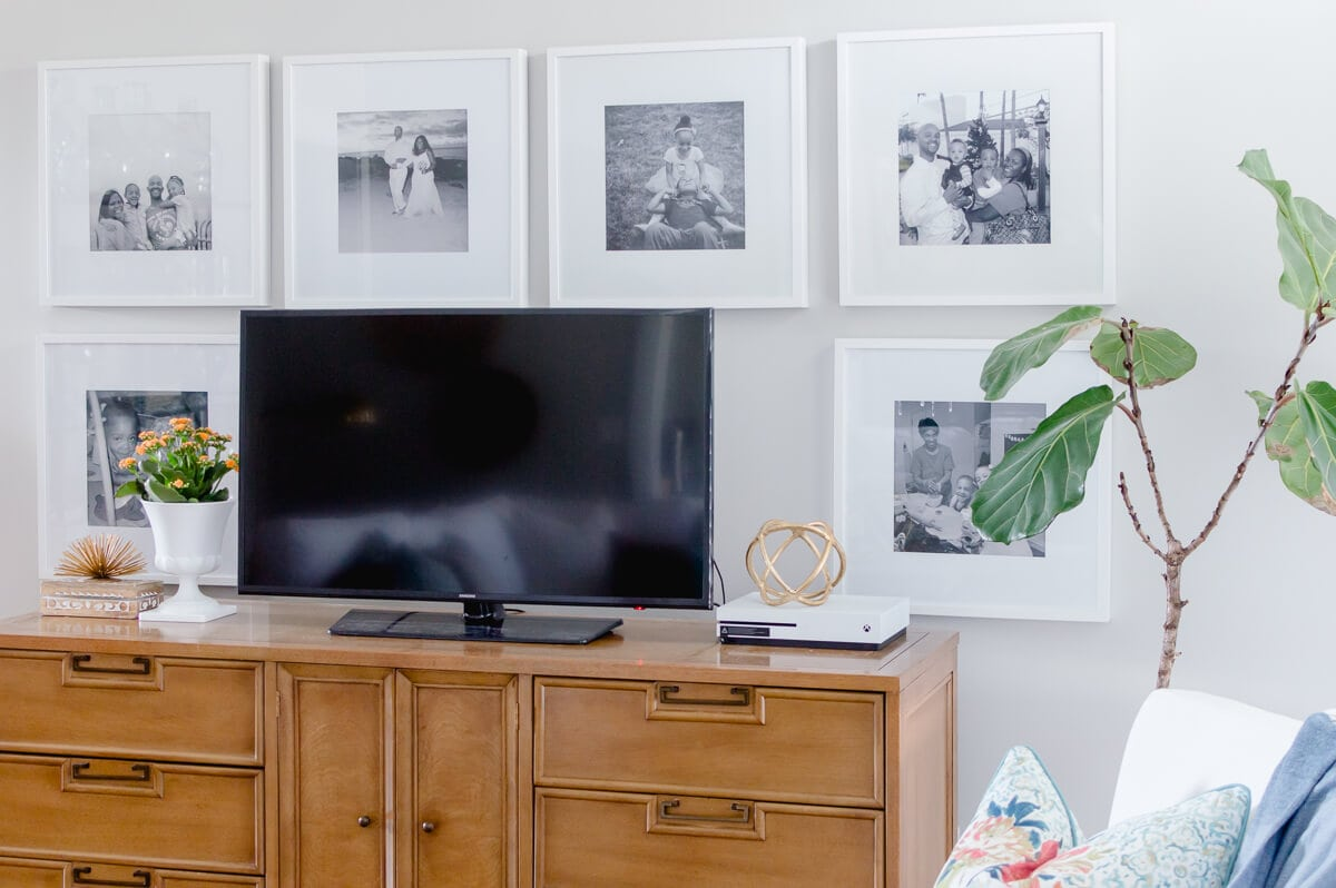 Decorating Ideas Around Tv On Wall Tips For Decorating Around A Tv The Home I Create