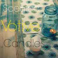 DIY Scented Votive Candles With Essential Oils