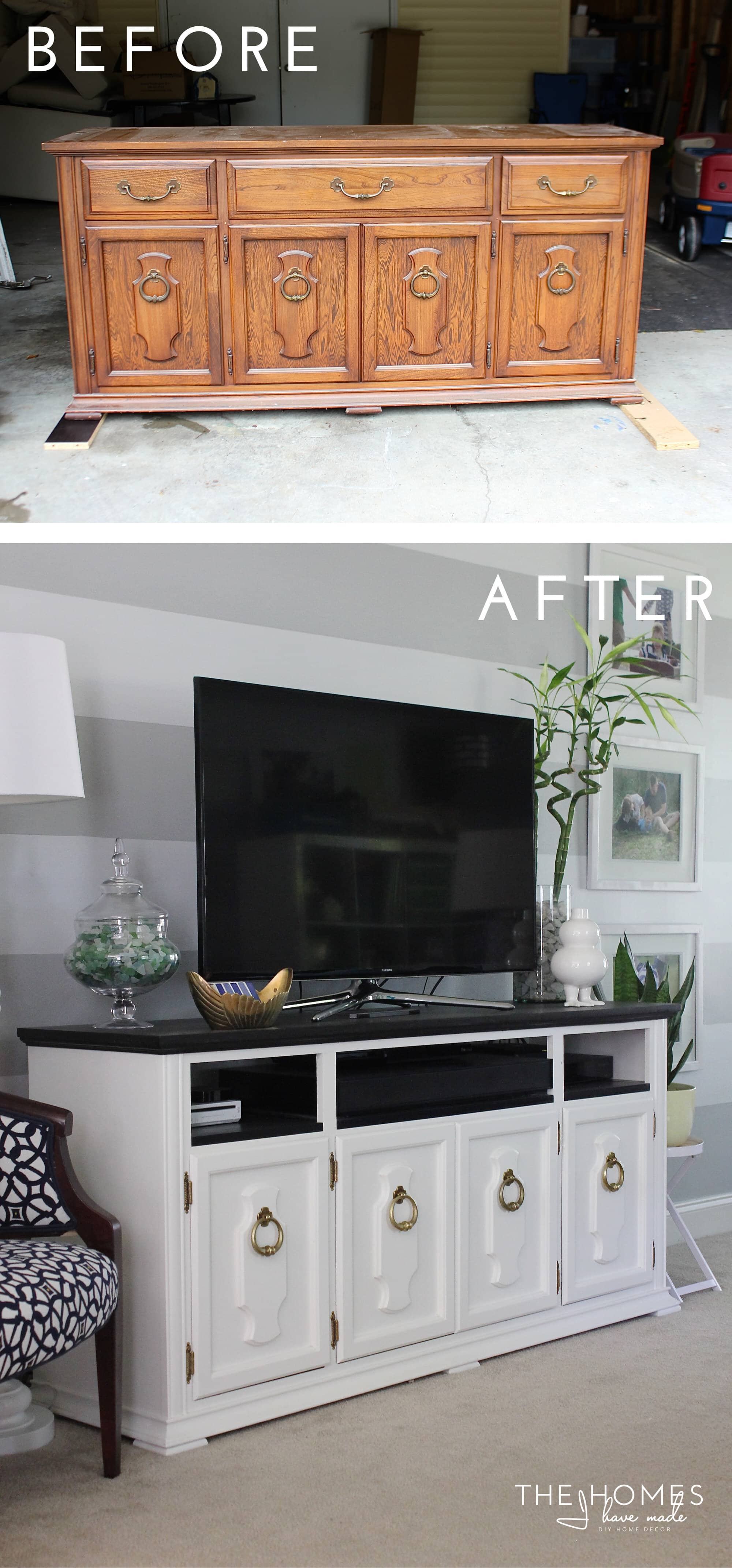 Diy Blog Möbel How To Transform A Dresser To A Media Stand Tutorial The Homes