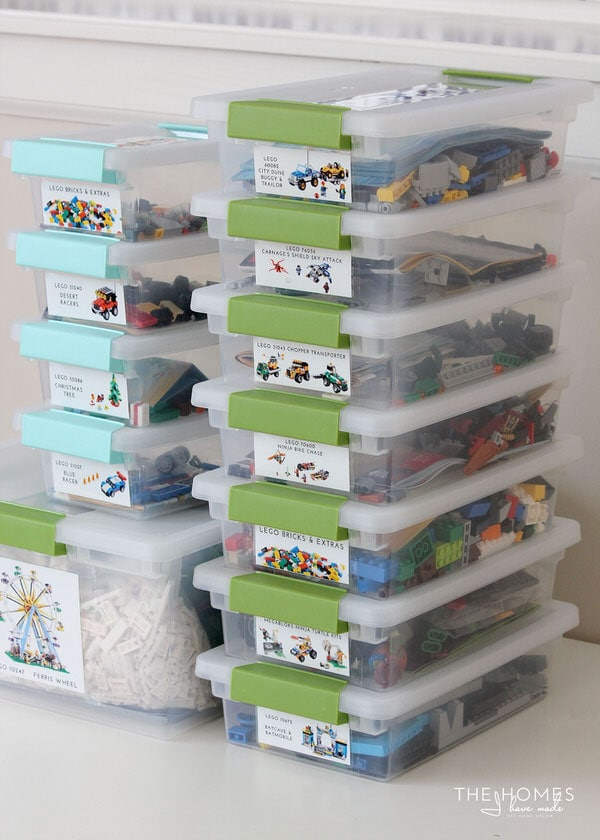 Organize This Legos (A Simple Way to Sort and Organize Lego Kits