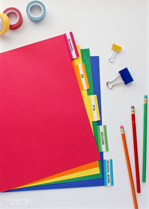 Organize This Back-to-School Paperwork The Homes I Have Made