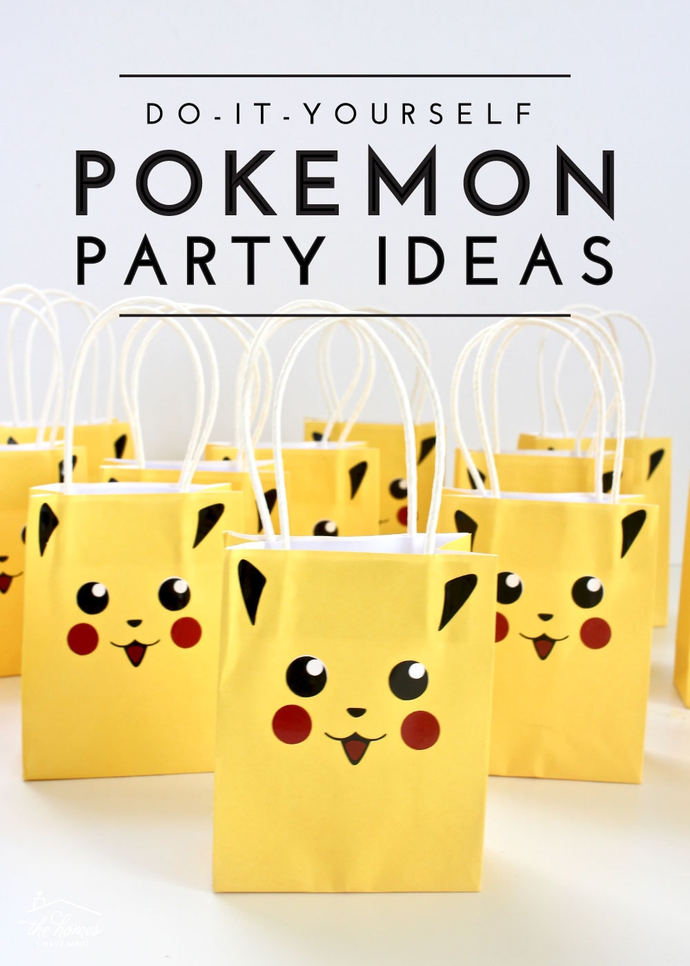 Diy Party Diy Pokemon Party Ideas The Homes I Have Made