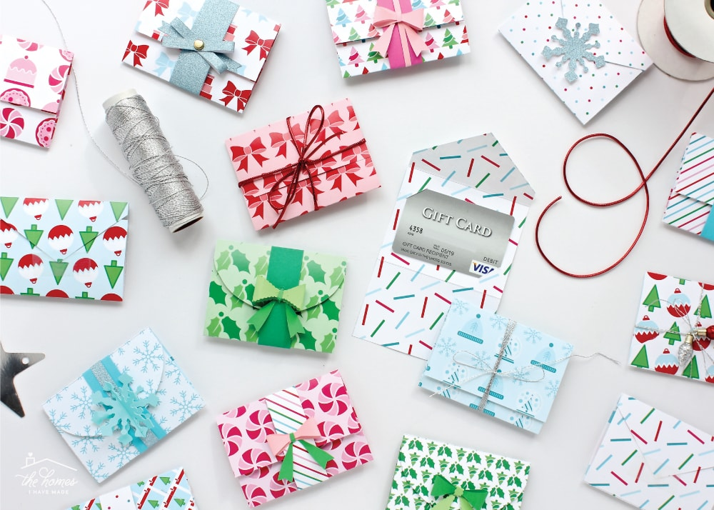 DIY Gift Card Holders With Printable Template The Homes I Have