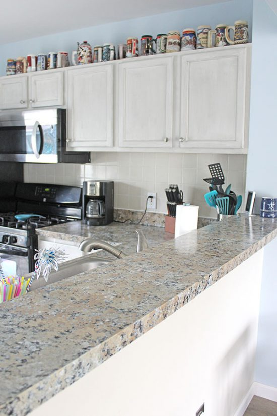 Diy Granite Countertops Yes Really The Honeycomb Home