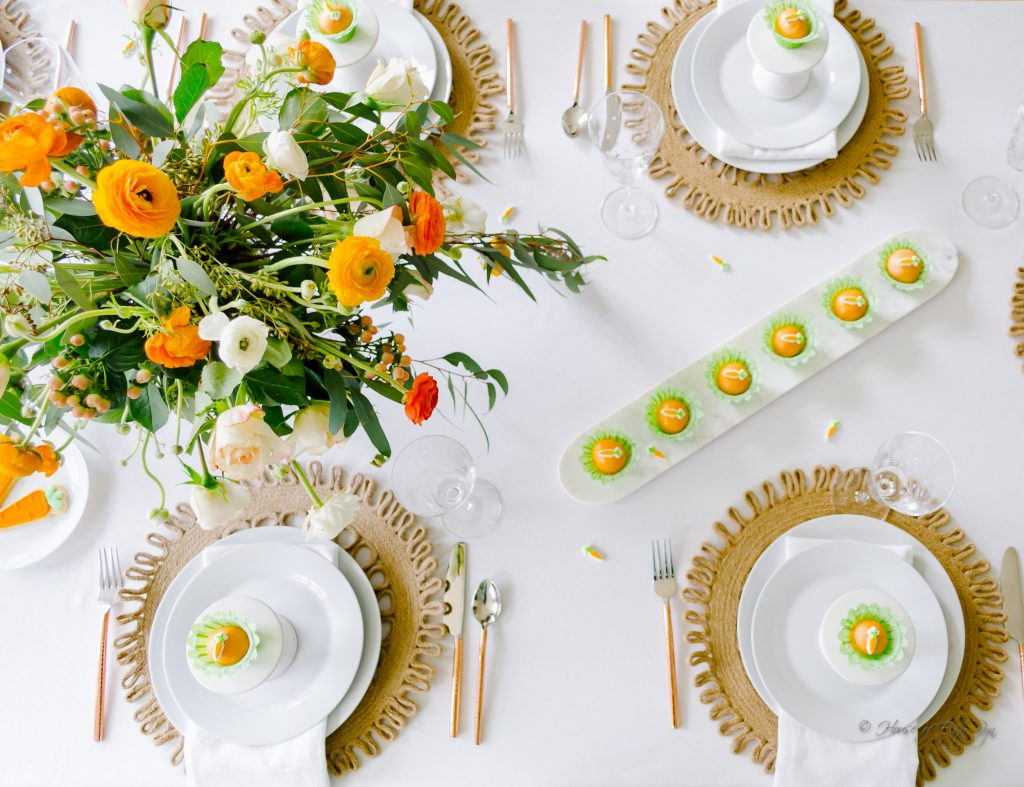 Carrot Top Tablescape The House Of Elyn Ryn