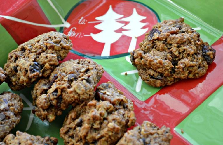 pecan cranberry cookies