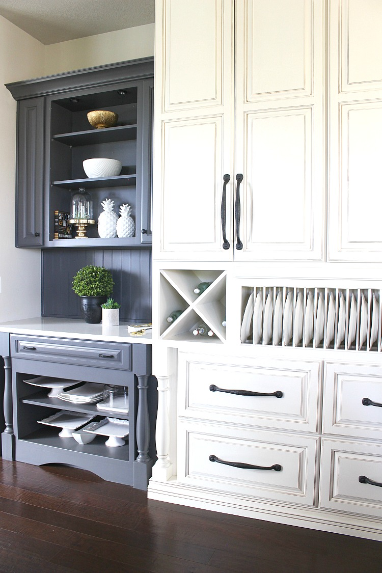 Gray Kitchen Cabinets Benjamin Moore My Favorite Dark Gray Paint For Kitchen Cabinets The House Of