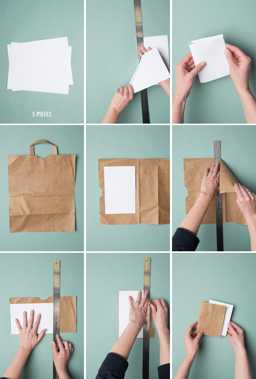 How To Make A Book Cover Out Of Paper : Minute bookbinding the house that lars built