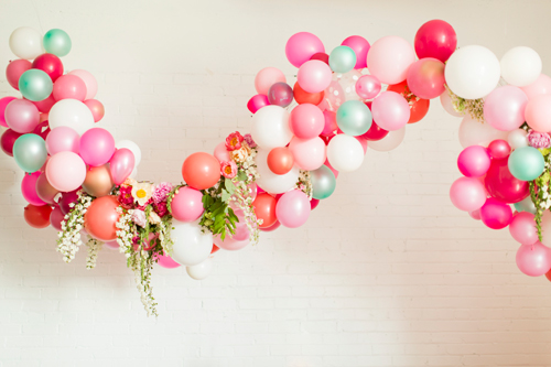 Image result for garland of balloon