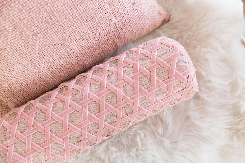Velvet Ribbon Bolster Pillow The House That Lars Built