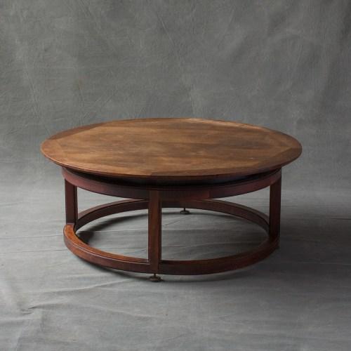 Medium Of Walnut Coffee Table