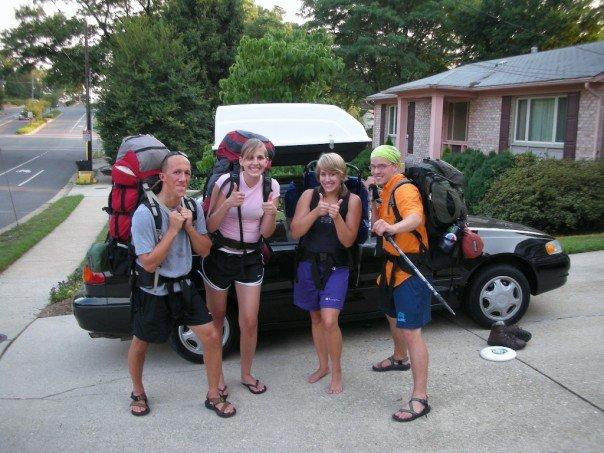 backpacking high school