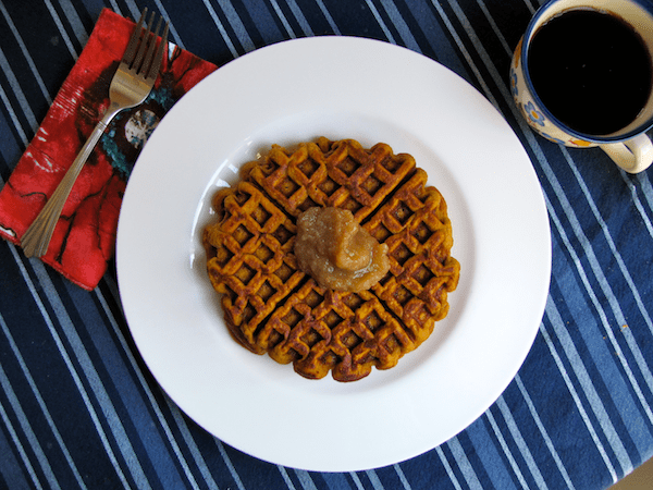 Sweet Potato Waffles Recipe