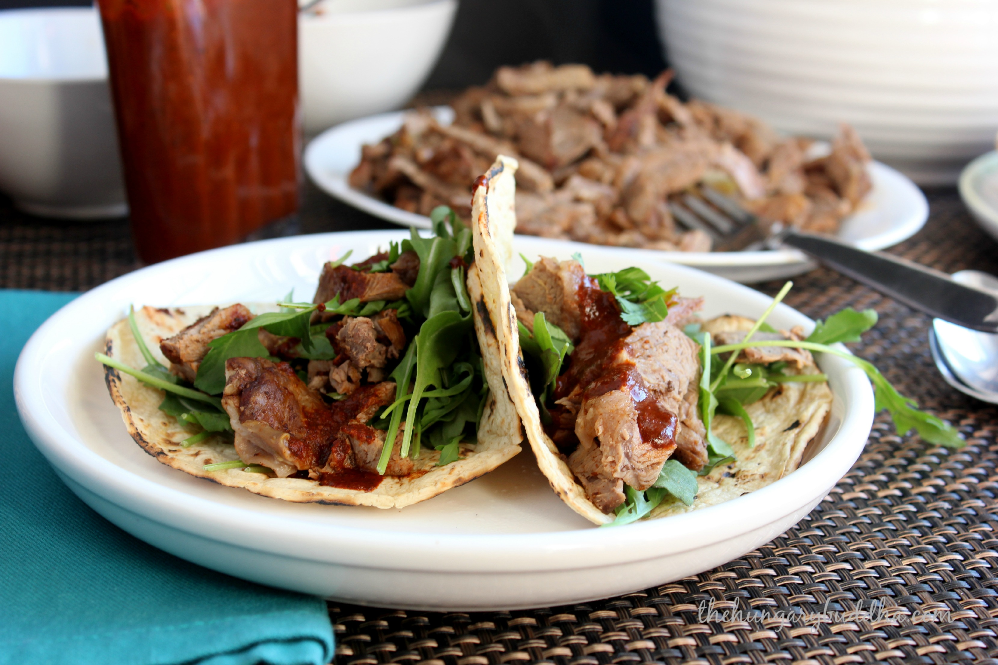 Double-Fisted Dinner:  Oaxacan Lamb Barbacoa