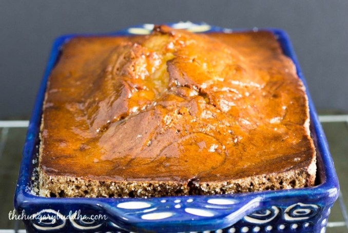 tahini orange pound cake