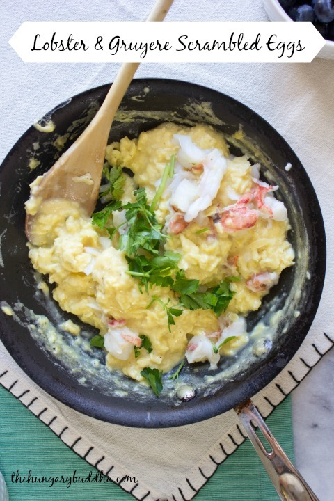 ... salmon scrambled eggs caramelized onions lobster scrambled eggs