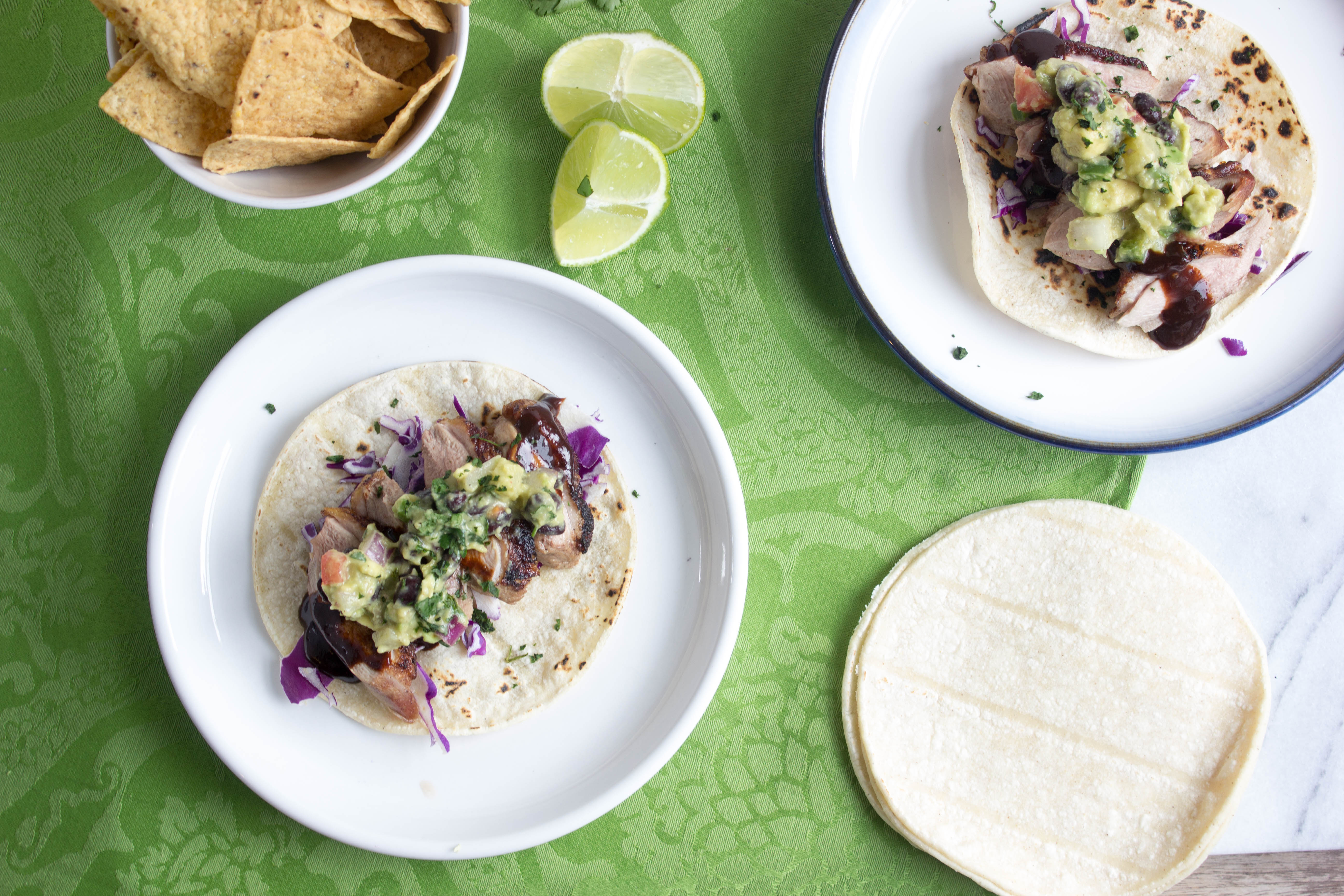 Five Spice Duck Tacos with Pineapple Black Bean Guacamole | The ...