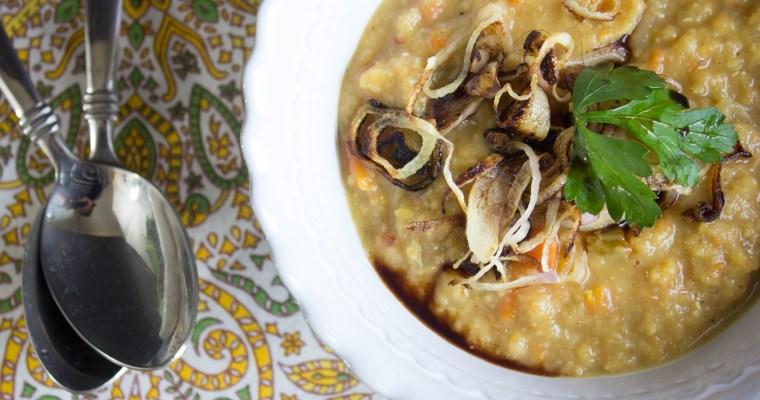 Egyptian Lentil Soup