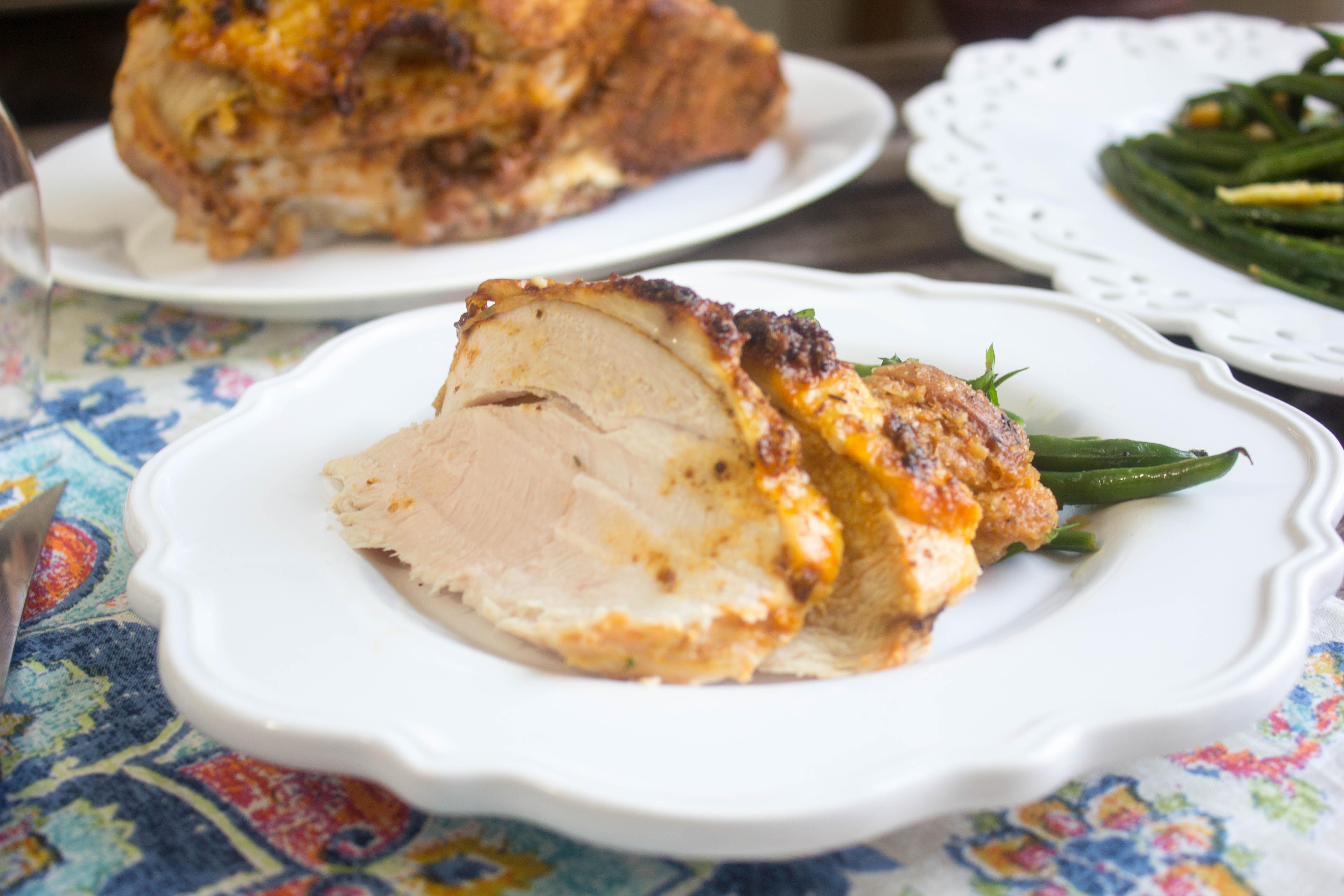 Roasted Spiced Turkey Breast